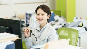 施工管理職の女性